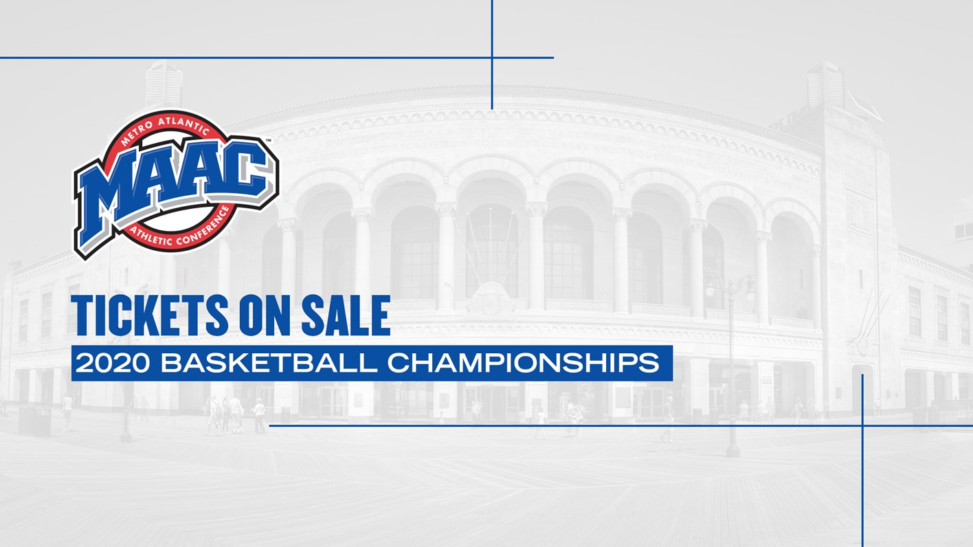 Atlantic City Calendar Of Events January 2020 Tickets on Sale for 2020 MAAC Basketball Championships in Atlantic