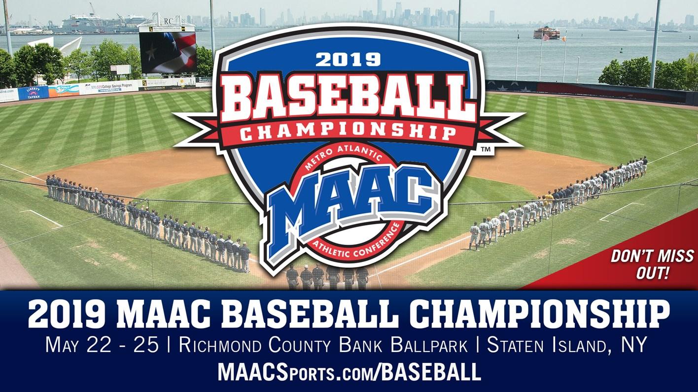 2019 MAAC Baseball Championship Tickets on Sale - Metro Atlantic
